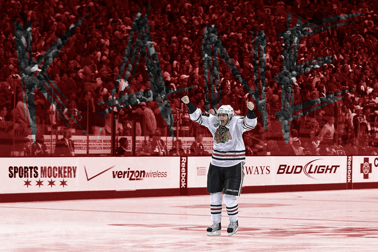 Patrick Kane, Chicago Blackhawks, Stanley Cup Game Winner