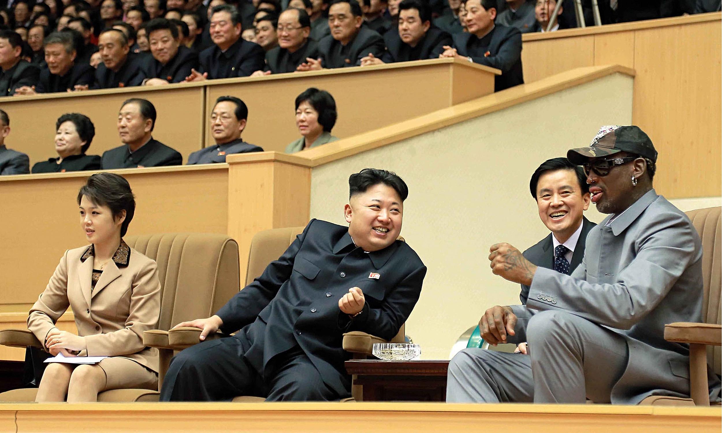 dennis rodman save us nuclear war kim jong un