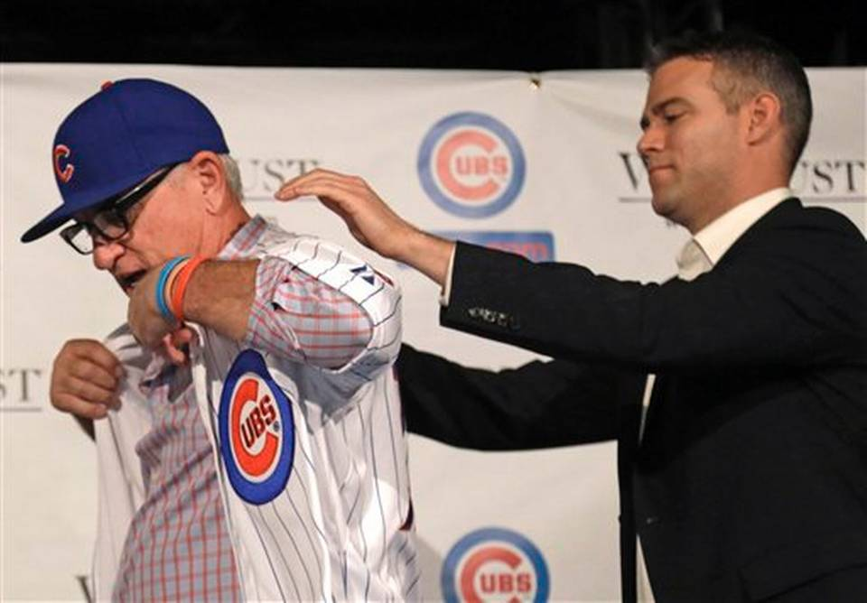 Theo Epstein, Joe Maddon, Chicago Cubs