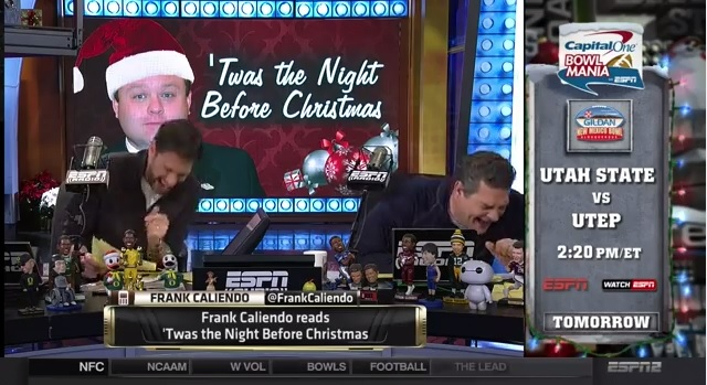 Frank Caliendo Reads Quot Night Before Christmas Quot As Different