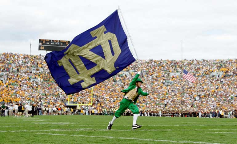 Brady Hoke Notre Dame