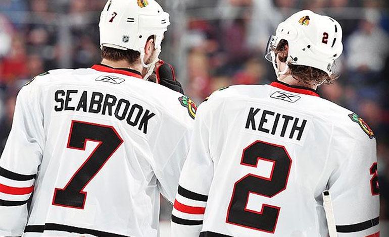 Brent Seabrook, Duncan Keith, Chicago Blackhawks
