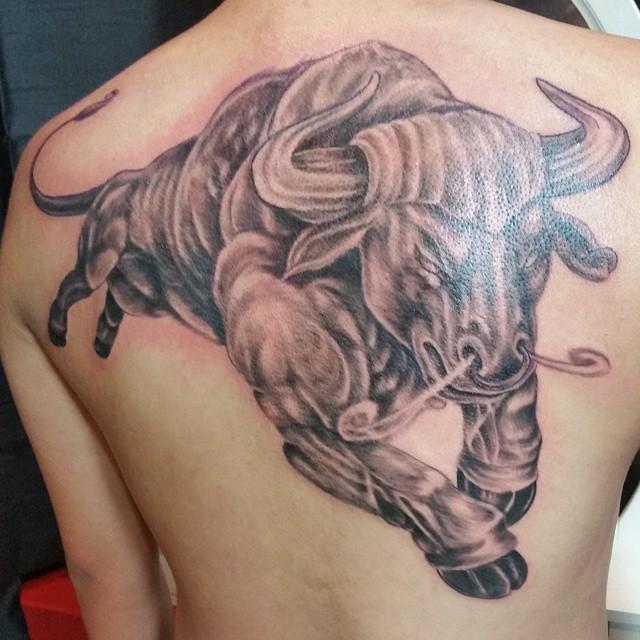 Chicago Bulls Jordan Tattoo