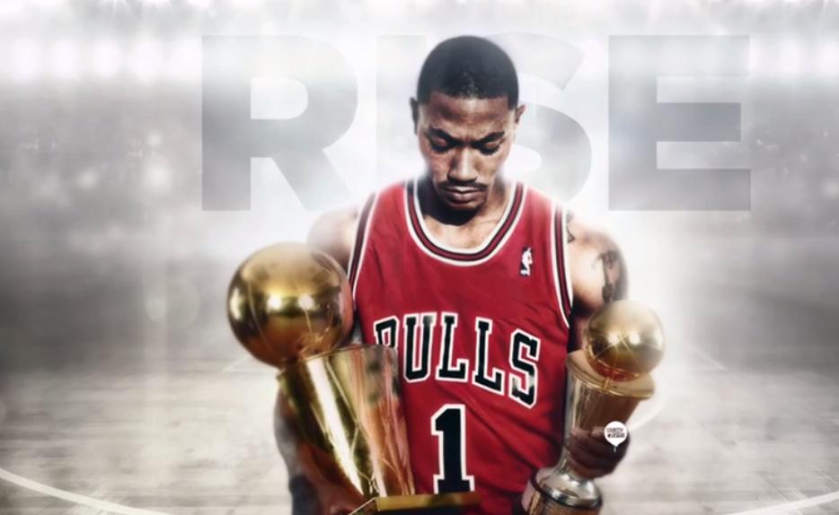 Video  Derrick Rose Resurrection Teaches Bulls Fans Perseverance