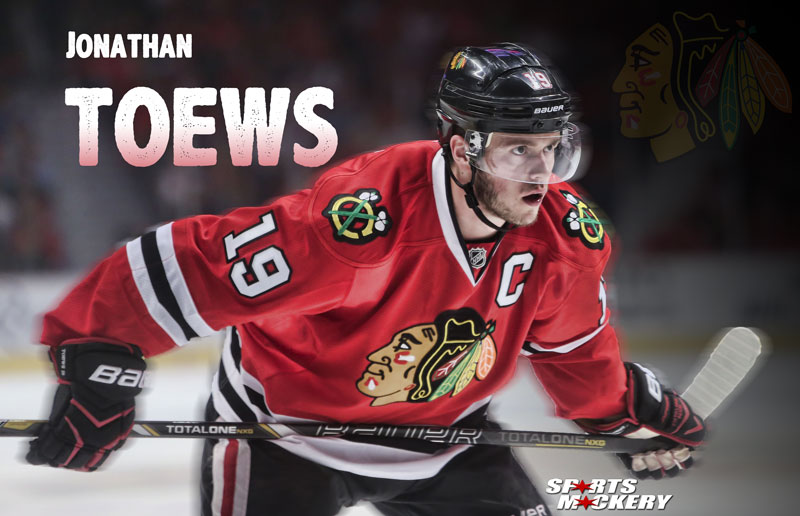 Jonathan Toews, Chicago Blackhawks, Facts