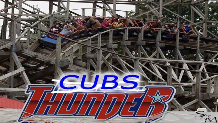 Chicago Cubs, St. Louis Cardinals, Six Flags, Thunder