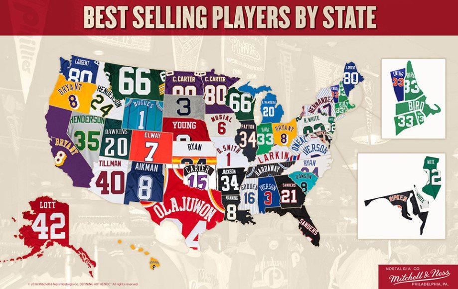 Best Jerseys By State