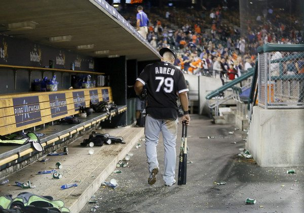 The Red Sox are pursuing Abreu with fierce determination.