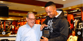 Jose Abreu was given a diamond ring to commemorate batting for the cycle.