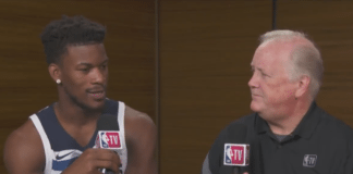 jimmy butler trolls bulls timberwolves media day