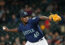 The White Sox acquired Thyago Vieira from the Mariners for international bonus-pool money.