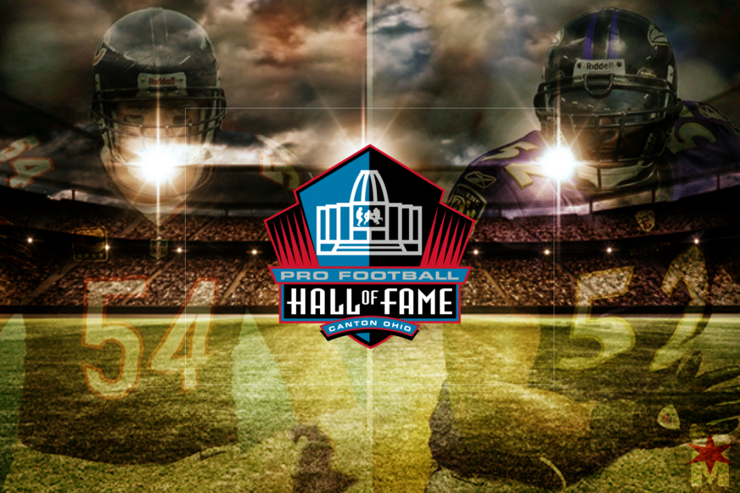chicago bears hall of fame game