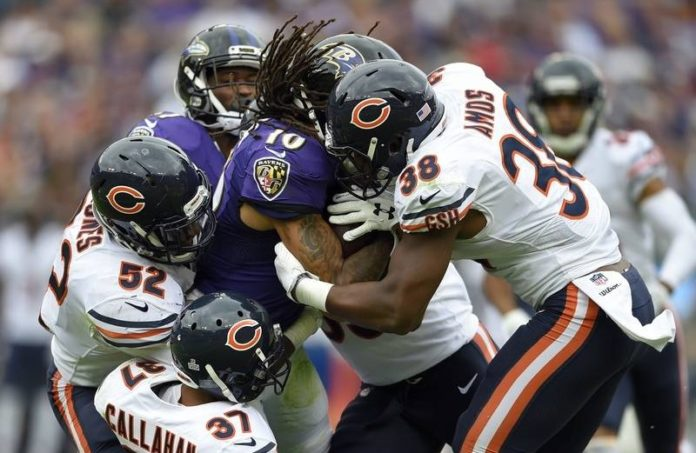 chicago bears position group