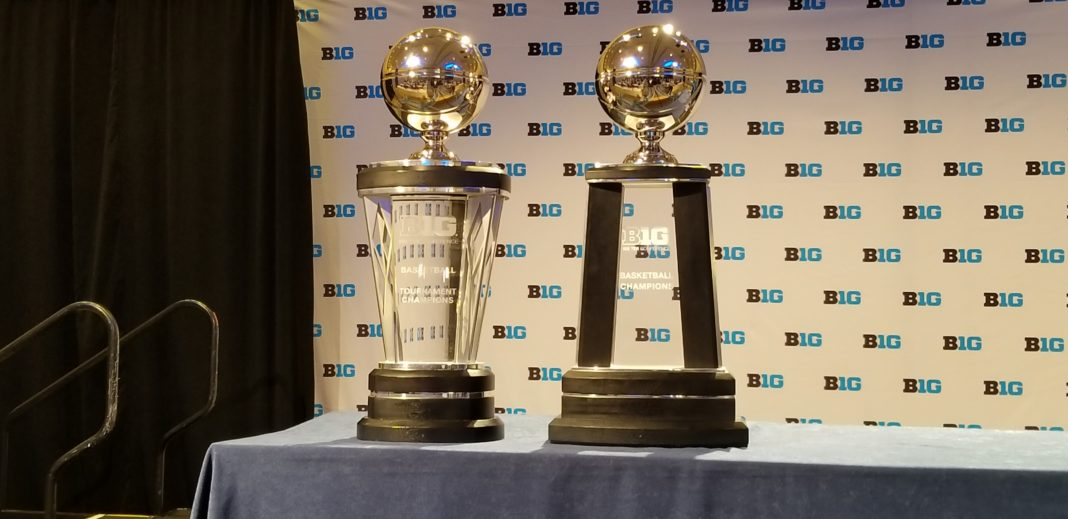 The Big Ten returned it's basketball media day event to Chicago