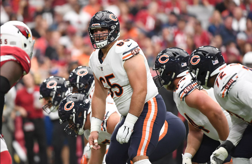 bears offensive line