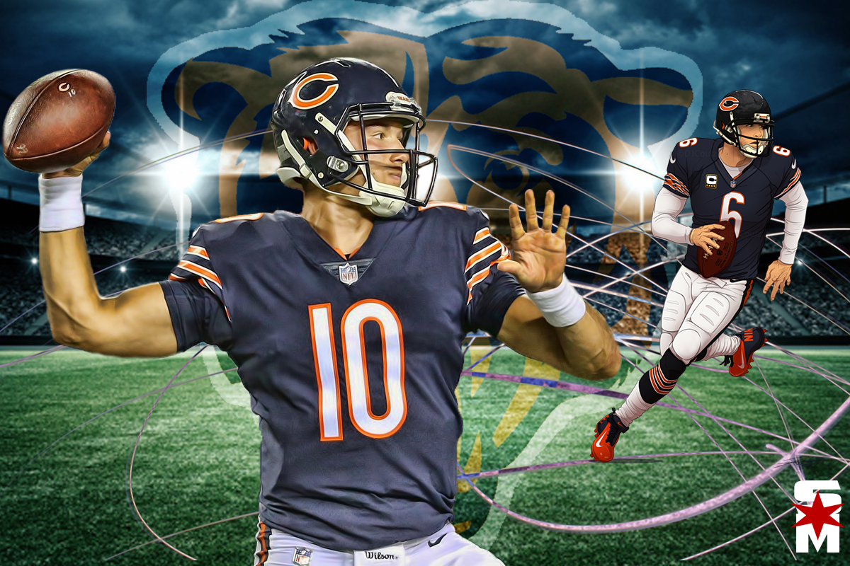 Mitch-trubisky-and-jay-cutler