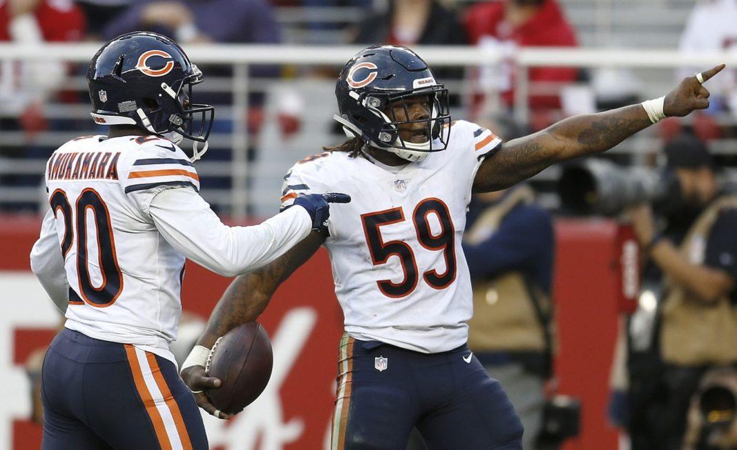 chicago bears super bowl odds