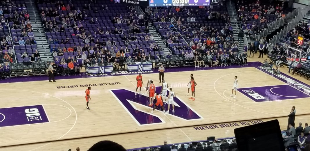 Sunday was the 176th meeting between Northwestern and Illinois.