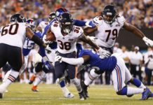 chicago bears roster projection