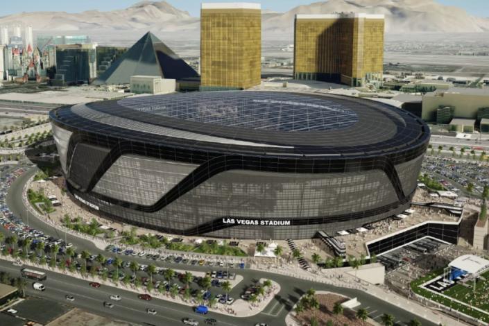 Raiders Allegiant Airlines Near Deal For New Stadium