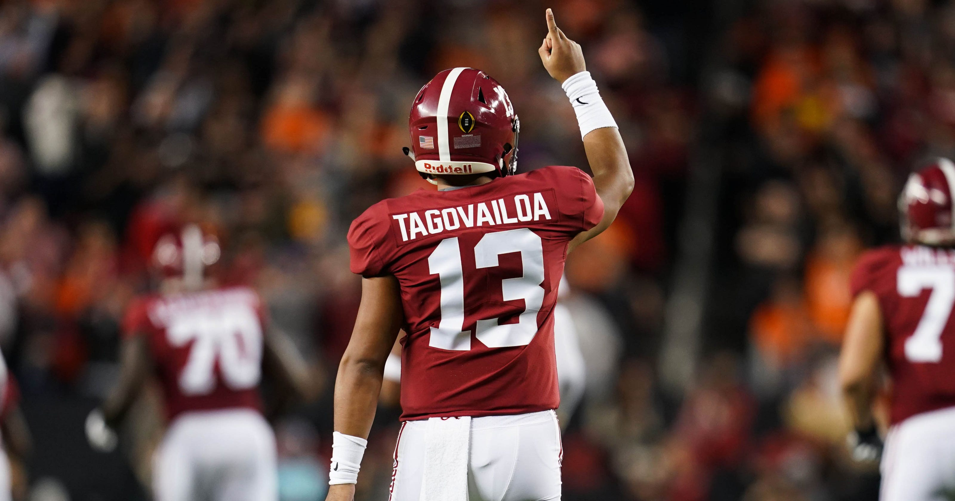 Tagovailoa 2020 Alabama Tua Bears Chicago Draft: QB