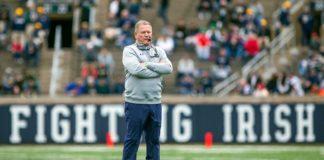Brian Kelly Head Coach Notre Dame