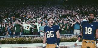 Braden Lenzy Notre Dame Football