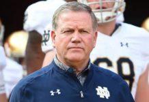 Brian Kelly Notre Dame Head Football Coach