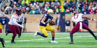 Chase Claypool WR Notre Dame