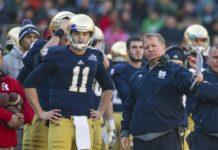 Tommy Rees Quarterbacks Coach Notre Dame