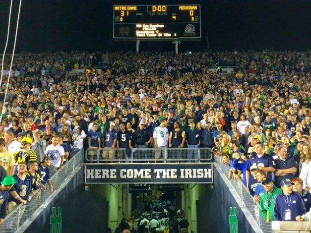 Notre Dame Michigan 2014